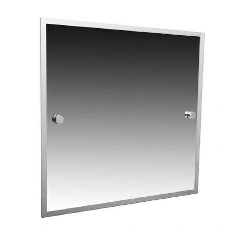 Miller Atlanta Chrome Bevelled Mirror